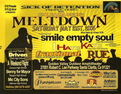 Summer Meltdown 2005