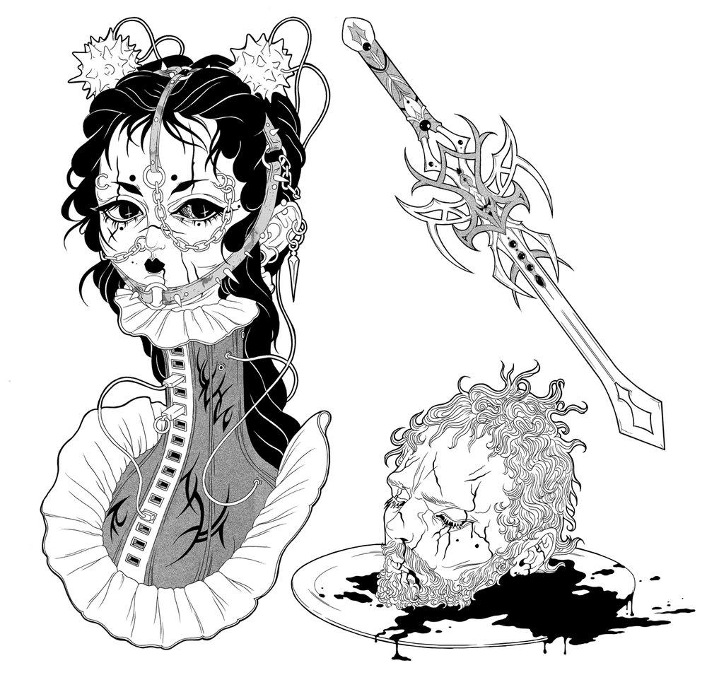 Milena Huhta ♱ Judith/Holofernes