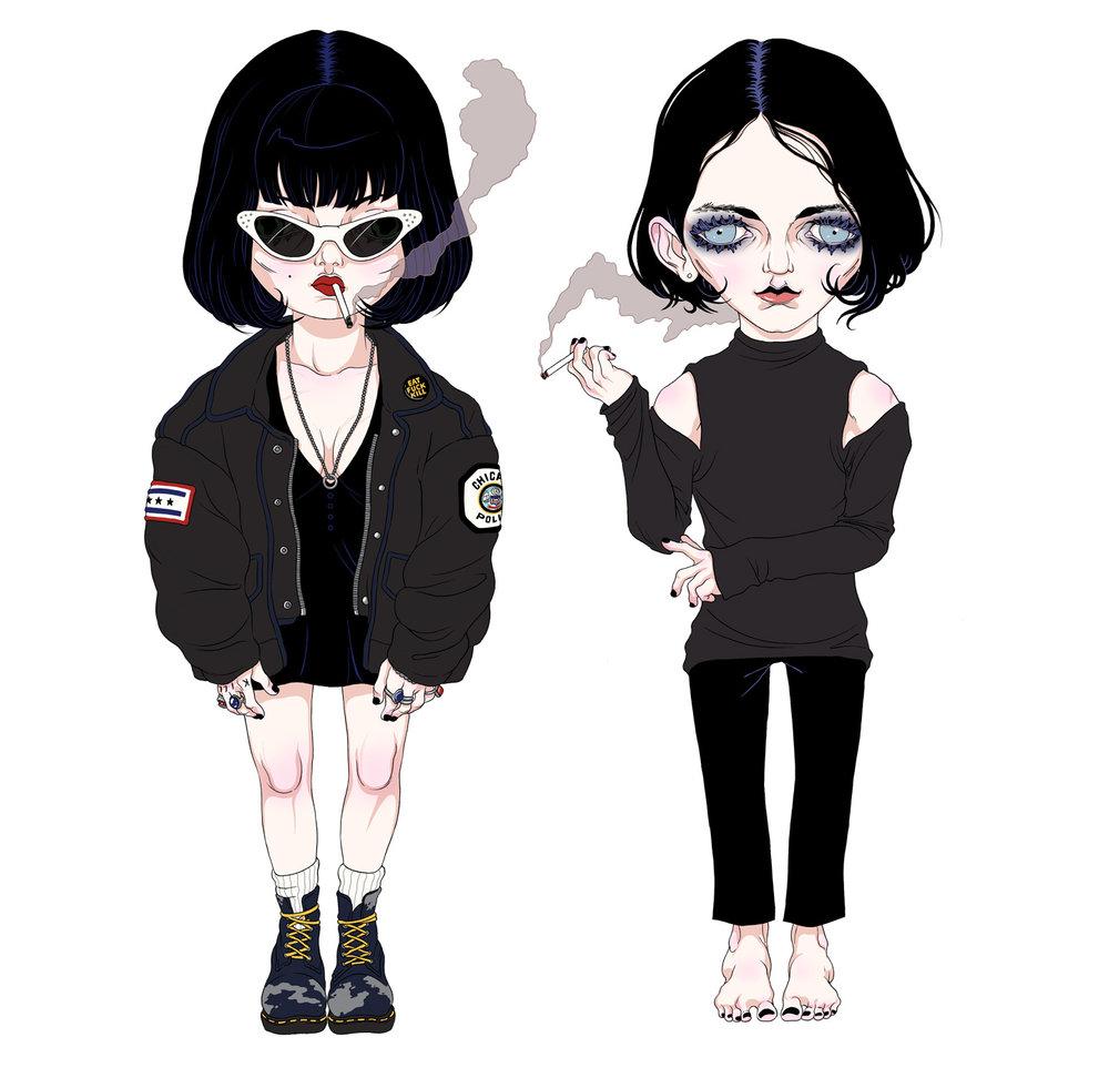 Milena Huhta ♱ Amy/Brian