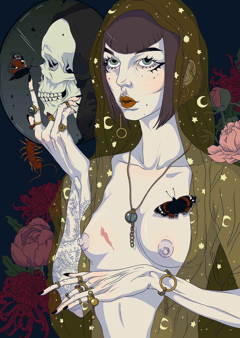 Milena Huhta ♱ Vanitas Self