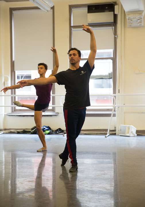 CARLOS LOPEZ - Carlos Lopez is a Ballet Master at ABT Studio Companyand Company teacher at the American Ballet Theater. He began his professional career at the Victor Ullate Balletin his native country, Spain where he danced as Principal Dancer for 6 years.