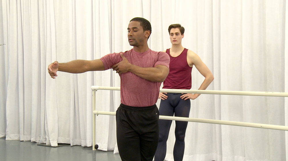 Dancio Barre with Craig Hall