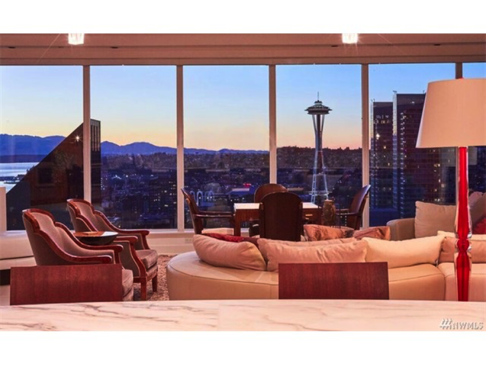 Above & Below: Market setting price points are being paid for luxury condominiums in downtown Seattle including the 5,170 sq. ft. residence at Escala (above) that is pending on it's $8,800,000 asking price and a recent closing on a $7,155,000 home at The Four Seasons Private Residences (below).