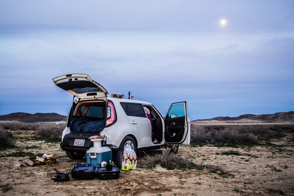 Car Camping: How To Turn Your Kia Into A Bed On Wheels