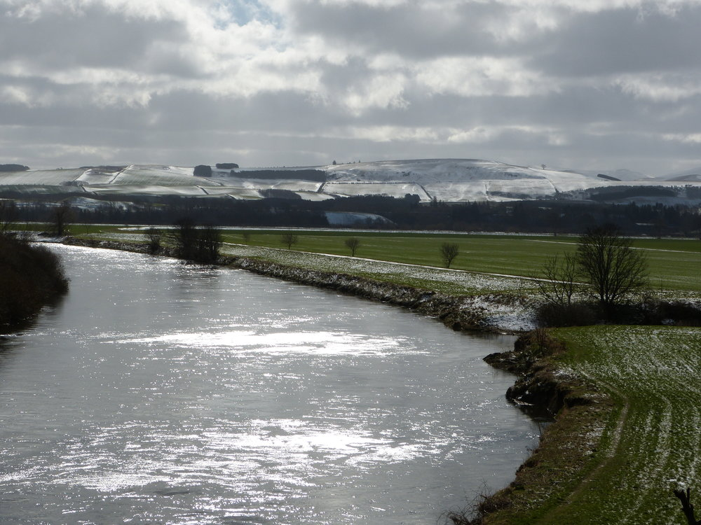 MARCH MORNING ON THE TWEED - SCOTTISH BORDERS - 2018