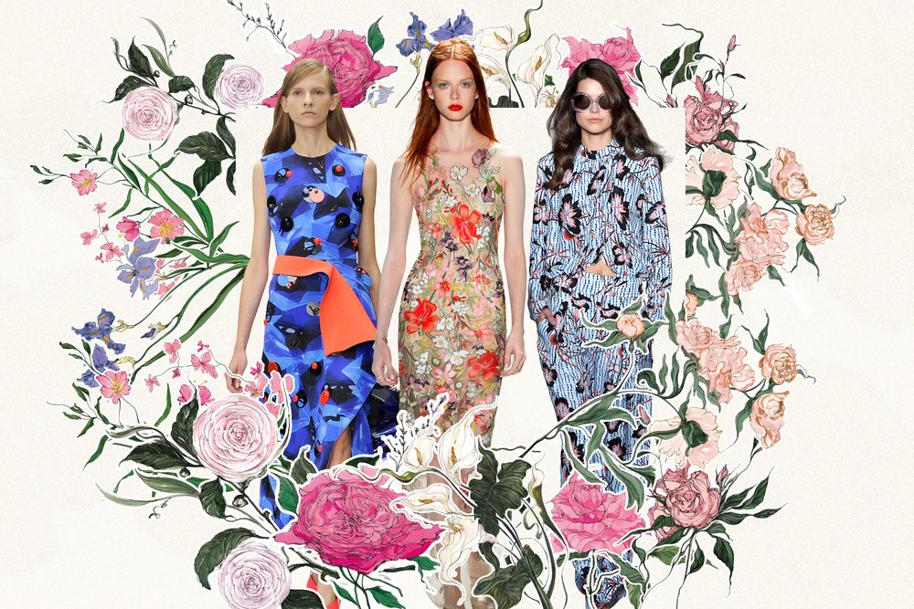 THE FASHION OF FLOWERS -