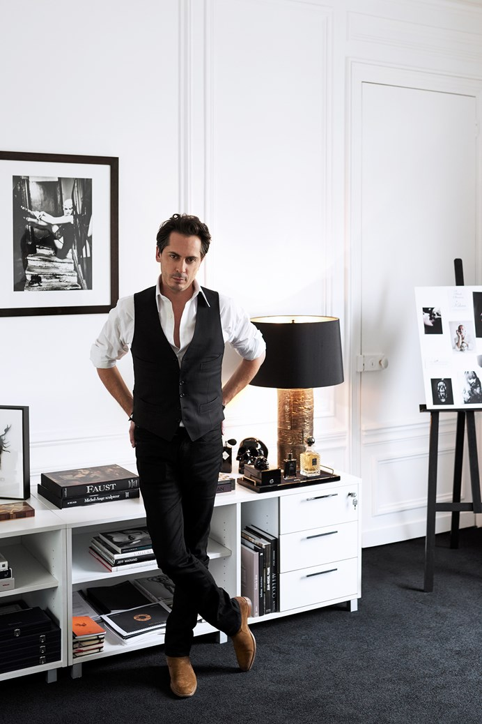 INSIDE L'APPARTEMENT WITH KILIAN HENNESSY -