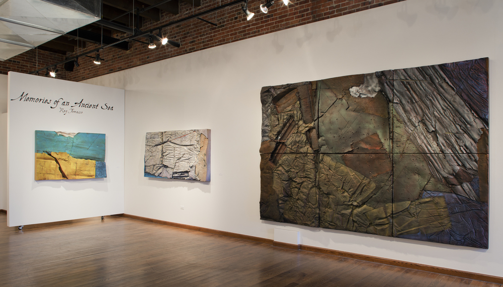 "Ray Tomasso Exhibit ""Memories of an Ancient Sea"""
