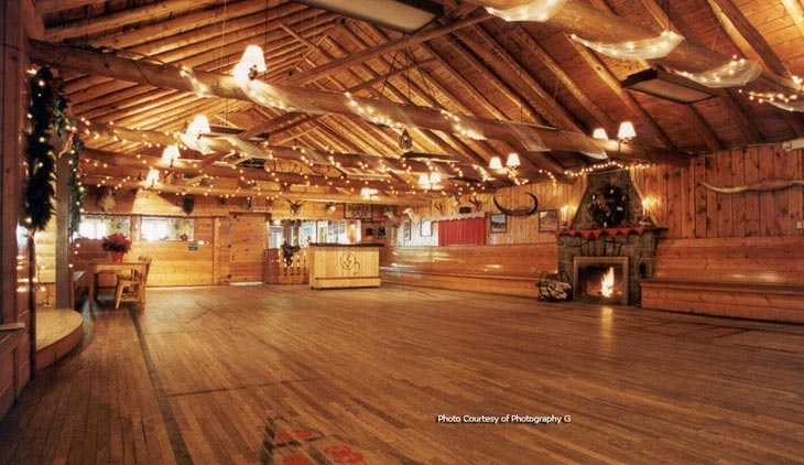 The Dance Hall in the Main Lodge