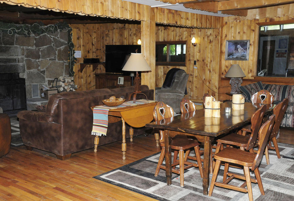 Fireside Room in Main Lodge