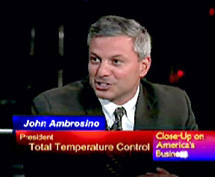 Total Temp was spotlighted for their superior HVAC service on Close-Up TV News.