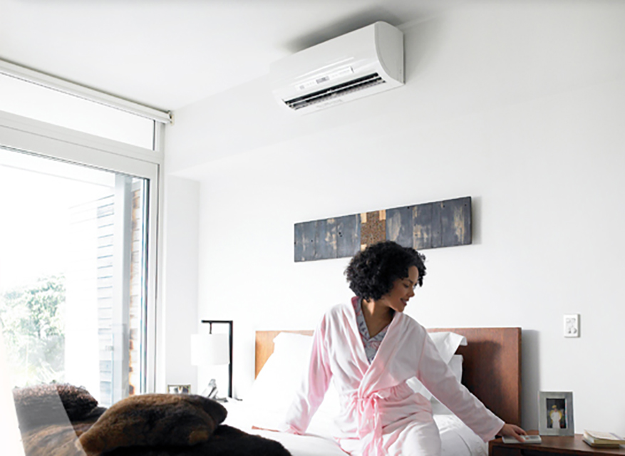 Heating, cooling and humidity control with a ductless system can be expertly installed in your home by Total Temperature Control.