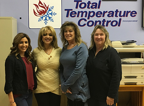 Total Temperature Control holds high standards from the office staff to on-site technicians.