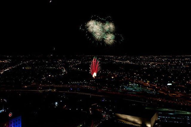 #fireworks from #freedomovertexas #houston #htx #texas #fourthofjuly