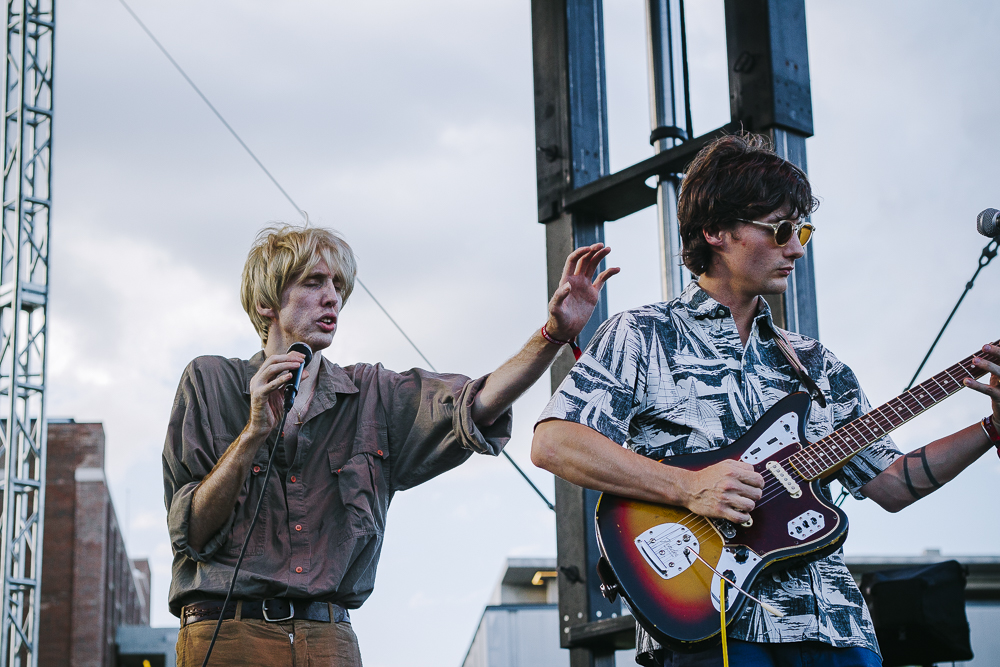 Bradford Cox and Lockett Pundt of Deerhunter