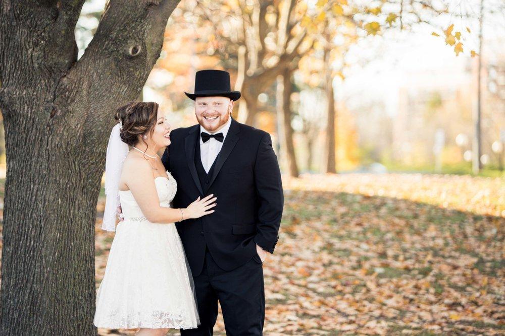 Fall wedding in Ottawa, Lago Bar Grill.