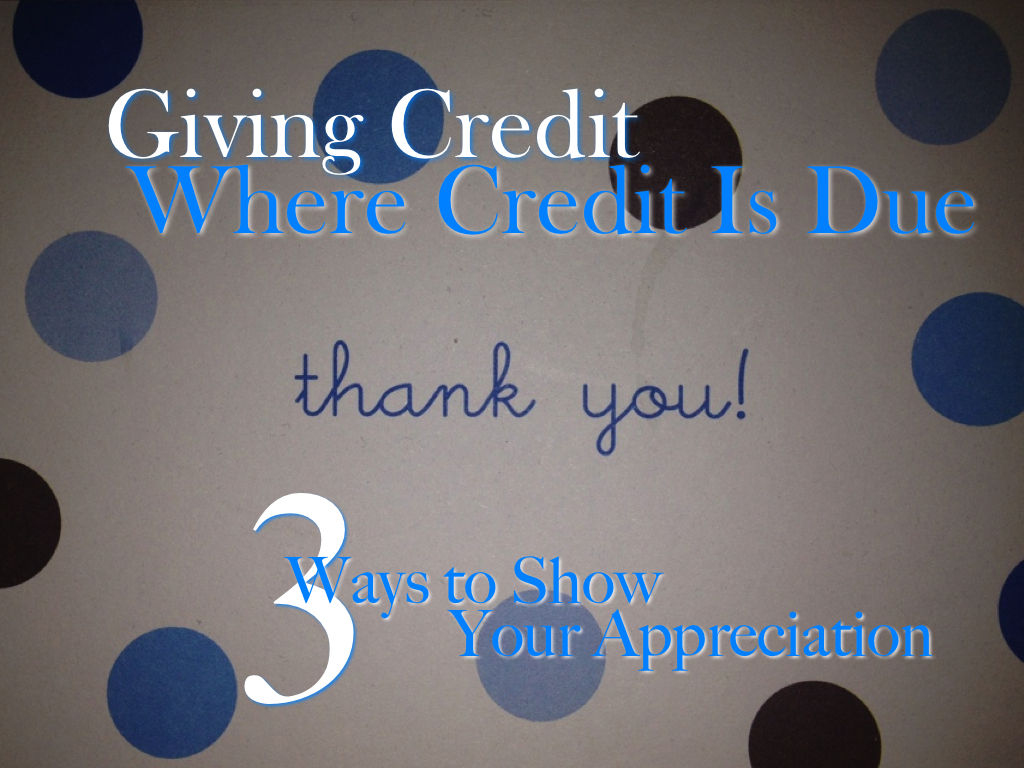 the importance of giving credit where credit is due Therefore, it is important to give credit to (cite) the ideas, methods, and results of  others it is also important to tell readers where they can access documentation.