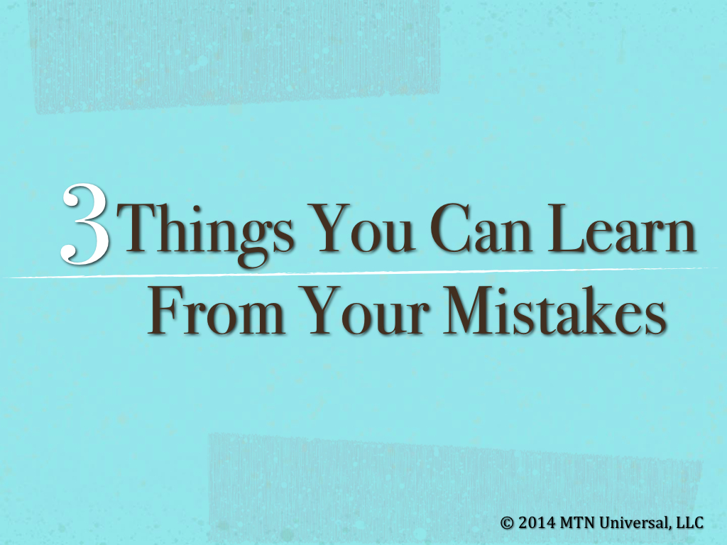 How to Identify and Learn from Your Mistakes - lifehacker.com