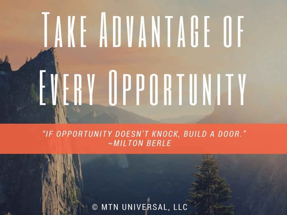 Image result for take the opportunities