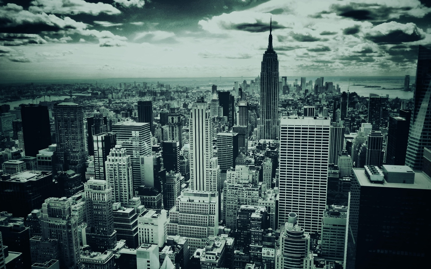 New York City In Black And White 1920x1200