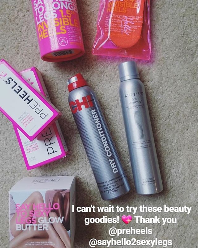 Thank you @shixels for participating !! Enjoy all the products 💖 • • • #amazing #beautiful #sexylegs #beautifullegs #sayhellotosexylegs #tintedglowgel #illuminatingfluid #hello #sexy #summer #tan #glowbutter #preheels #heels #invisibleheels