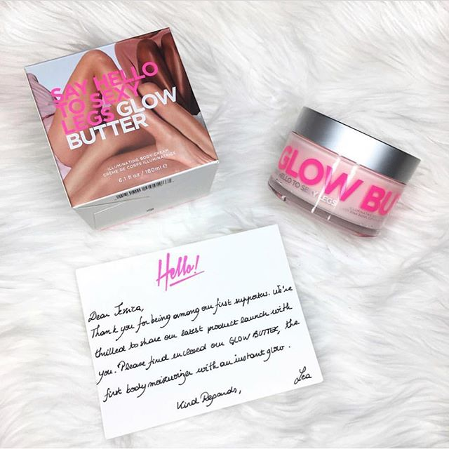 Thank you @_jessicaglz for this post💖 • • • #GlowButter #hello #wednesday #sayhellotosexylegs  #sexy #better #longerlegs #manhattan #beautiful #amazing #products #pink