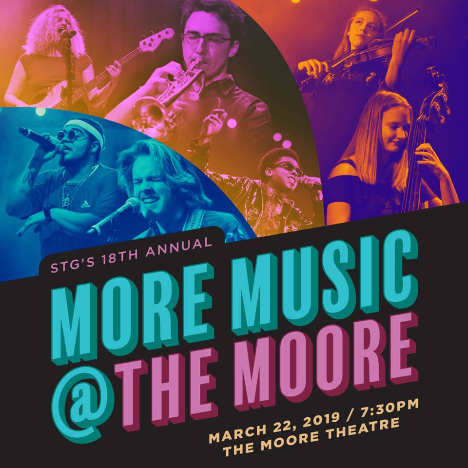 More Music @ The Moore - Come join us for a night celebrating Seattle's young music scene March 22nd, 7:30 pm!