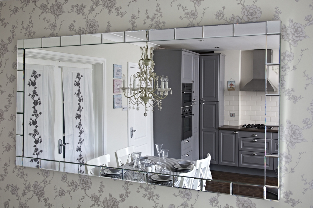 Kitchen - Mirror - Interior Design - Interior Living