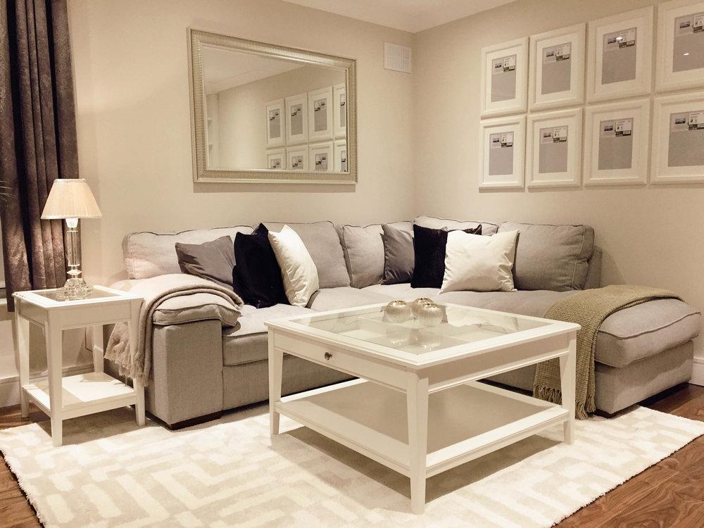 Living room design - Stillorgan (after photo)