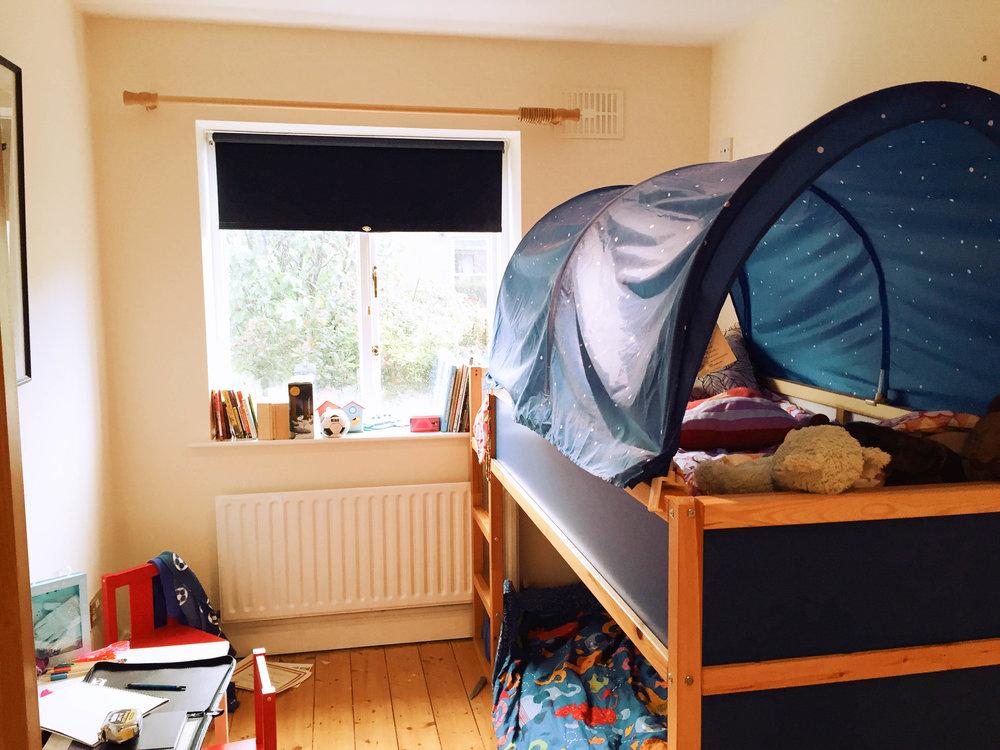 Boys bedroom Design - Ballsbrdige (before photos)