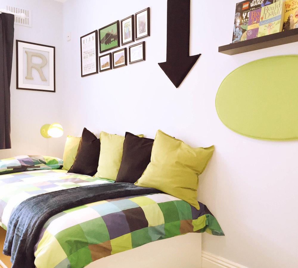 Boys bedroom Design - Ballsbridge (after photo)