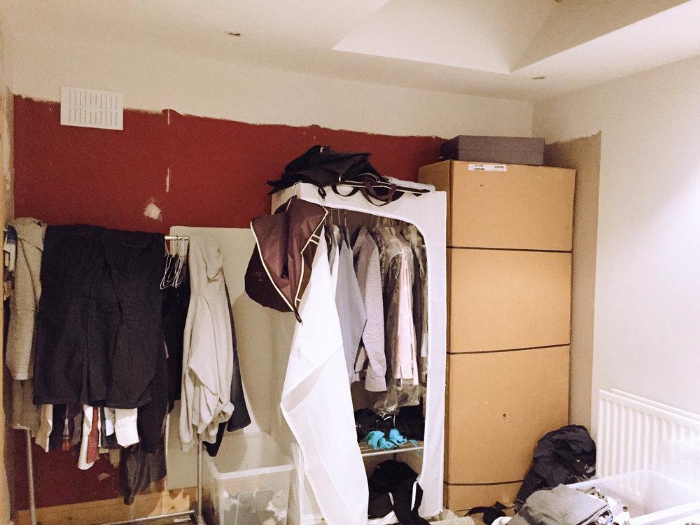 Bedroom Design - Stillorgan (before photo)