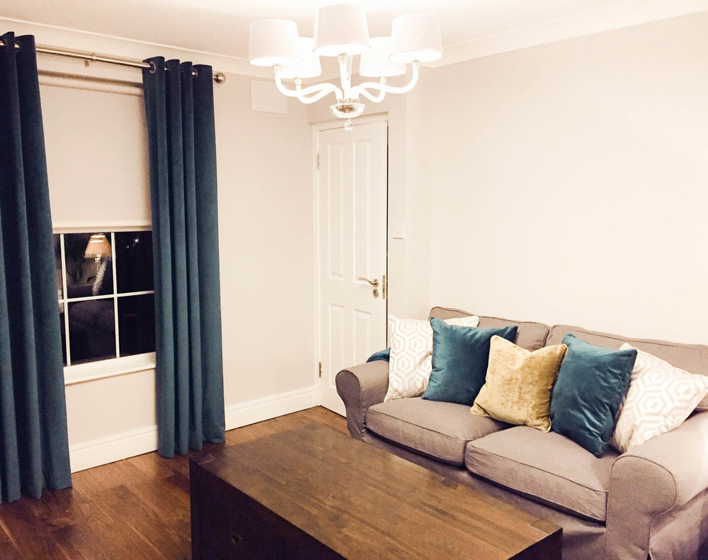 Reading room Design - Stillorgan (after photo)