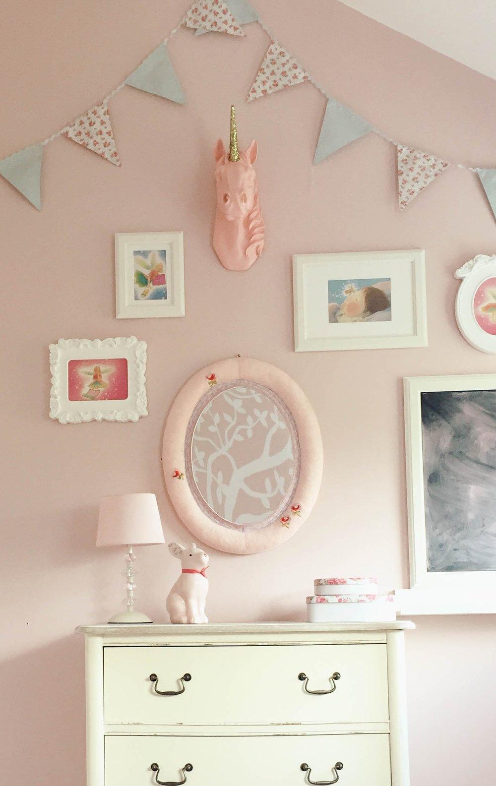 Girls bedroom Design - Ballsbridge (after photo)