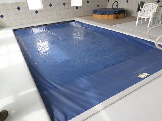 Safety indoors.   Whether your pool is indoors our out safety is always important