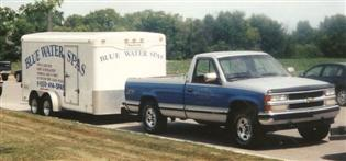 Service Truck 2001