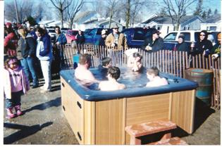 Shanty Days Caseville Polar Bear Dip 2003