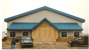 January 2006 New Bad Axe Store well under construction