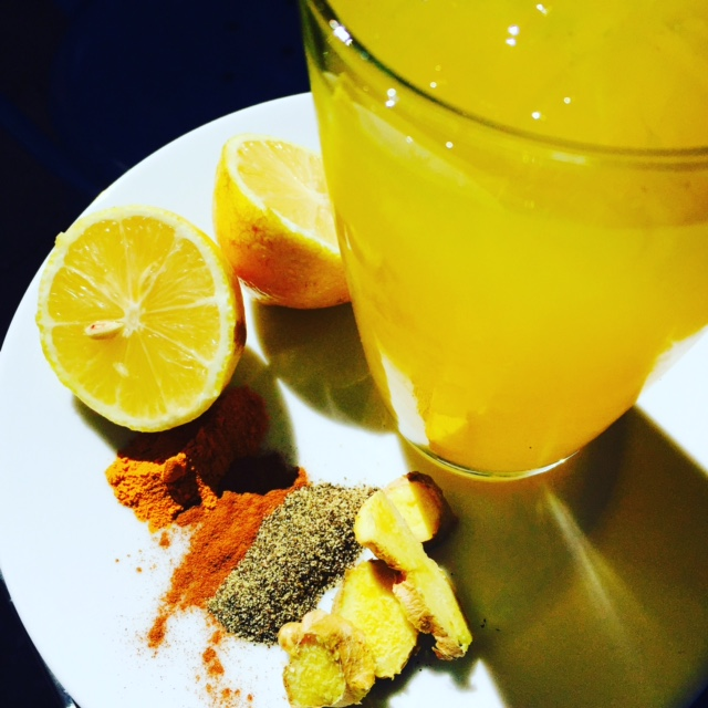 Copy of Ginger and Turmeric Tonic