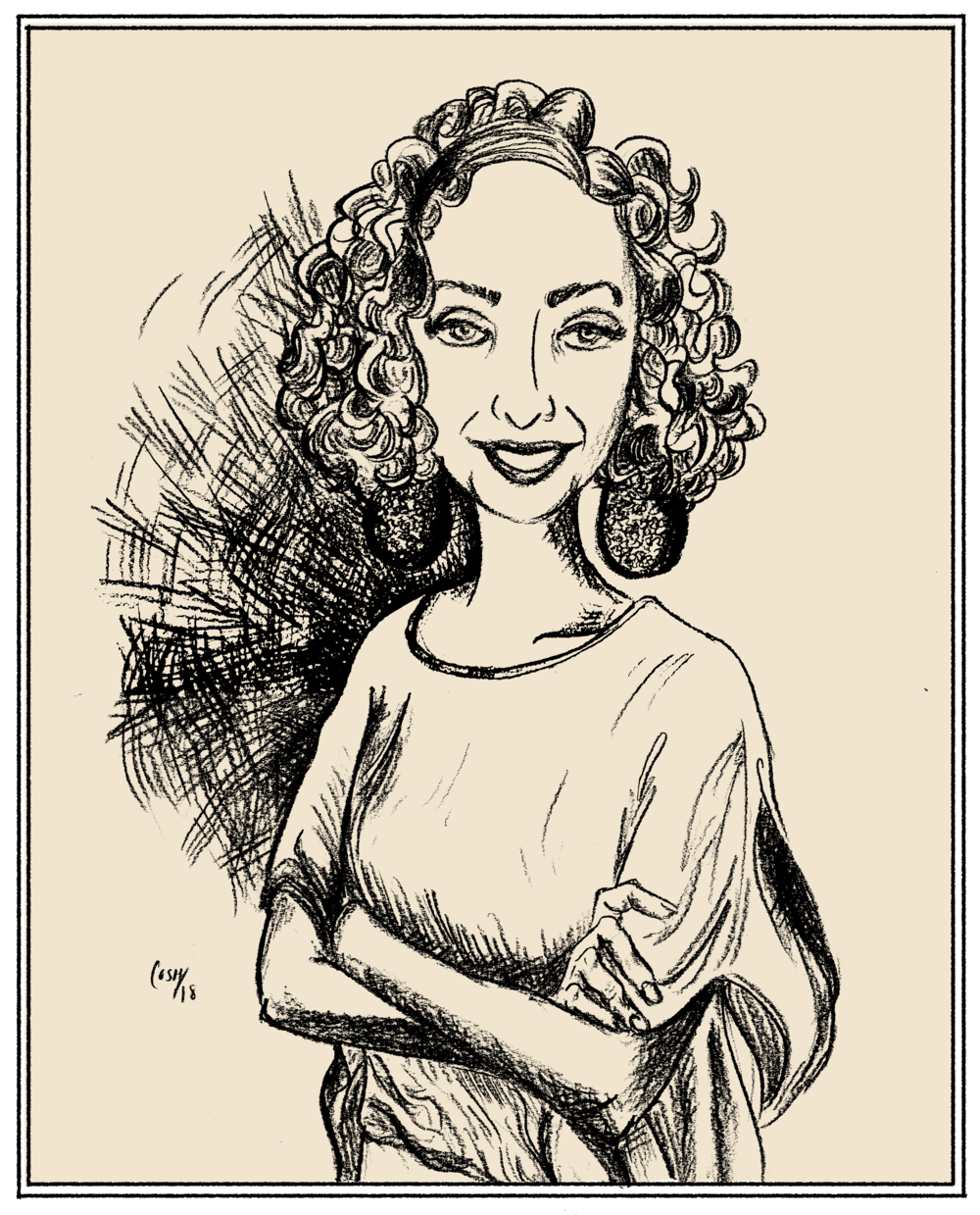 Sofia Samatar, Pocket Interview No. 7 -  Sofia Samatar lives in Virginia. Her 2014 debut novel, A Stranger in Olondria, won the World Fantasy and British Fantasy awards for Best Novel. Her most recent book, published in February of this year, is Monster Portraits, an autobiography threaded with accounts of fantastic creatures illustrated by her brother.Last year, Sofia spoke with us about, among other things, jazz, identity, belonging, feeling lost in life and in stories, and how we might use language to build, and remember, home. Also, Enid Blyton. (click here to listen to an audio version of this interview)1 - 2 - 3 - 4 - 5 - Questionnaire