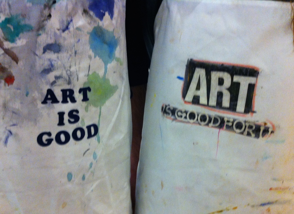 """Our Programs Support the Belief that """"Art Is Good""""    Join Us"""