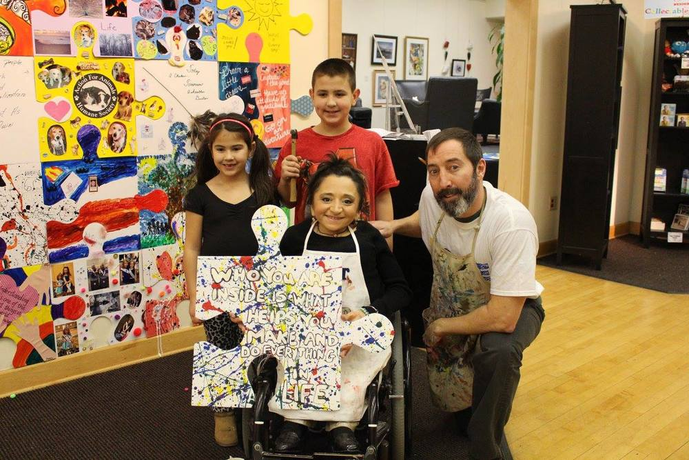 Make Art with the Puzzle Art Project    Learn More