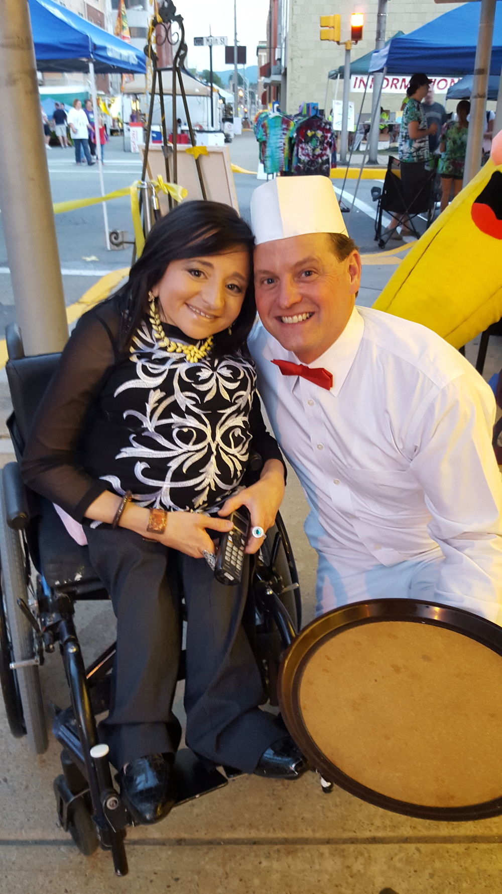 Miss Gabi and Malt Shop Marty are in charge of the Banana Split Festival's Annual Yellow-Tie Gala held every August. It's filled with food, drinks, music, laughter, fun, and more!! Get ready to dance the night away as you eat banana splits!