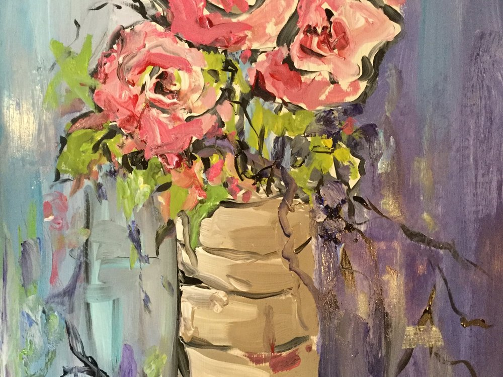 sMixed Media Acrylic Class with Sue Hrubes  - Day: WednesdaysTime: 5:30pm-7:30pmDates:  July 19, 26, August 2Price: Members-$45; Non-Members-$60
