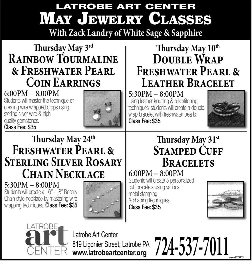 LAC Jewelry Making Class - May 2018