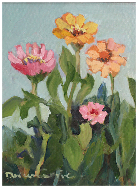 Copy of Doreen Currie, Kristy's Zinnias