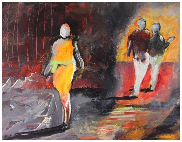 Joyce Clohecy, Three Figures