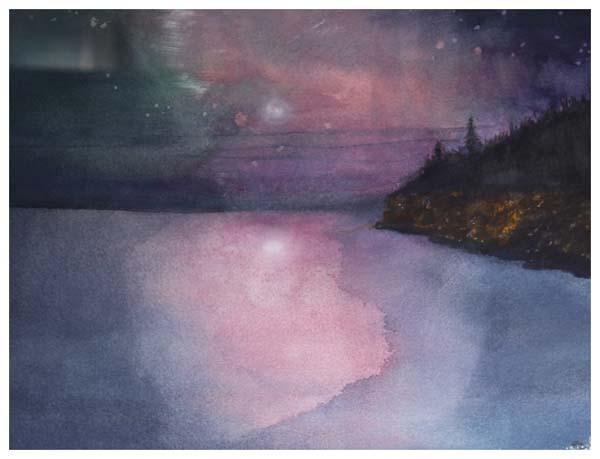 Linda Galati, Night Sky at Acadia