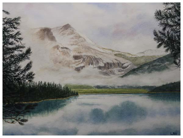Linda Harvey, Emerald Lake