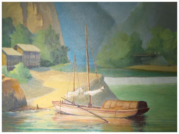 Allen Maloney, Yangzi River Boat